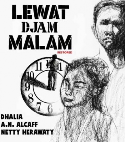 After the Curfew - Lewat djam malam flyer