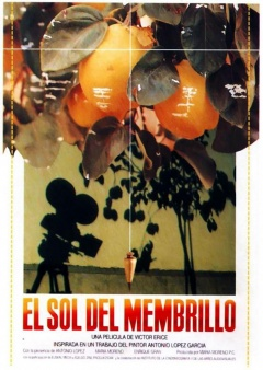 El sol del membrillo (Flyer)