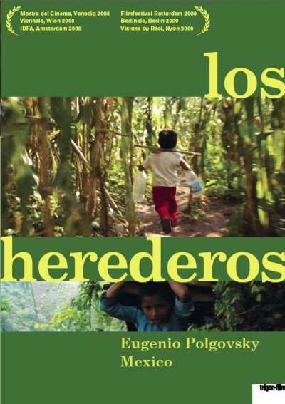 Los herederos flyer