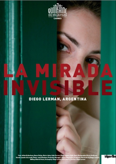 La mirada invisible flyer