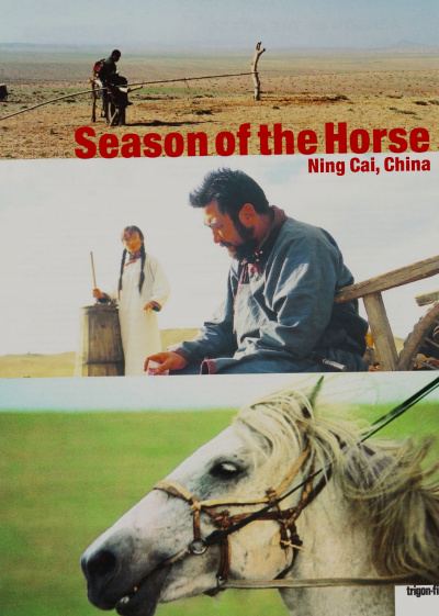 Season of the Horse - Jifeng Zhong De Ma flyer