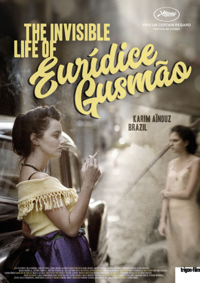 The Invisible Life of Eurídice Gusmão flyer