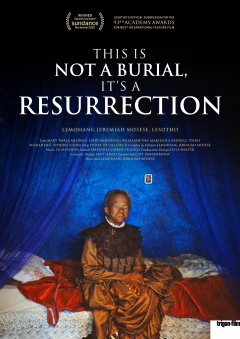 This is not a Burial, it's a Resurrection (Flyer)