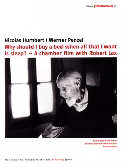 Why should I buy a bed when all that I want is sleep? (DVD Edition Filmmuseum)