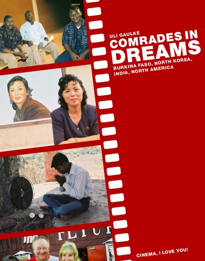 Comrades In Dreams flyer