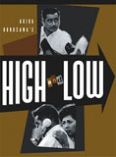 High and Low - Tengoku to jigoku (Flyer)