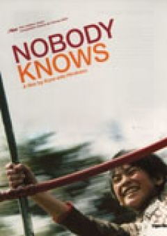 Nobody Knows - Dare mo shiranai flyer