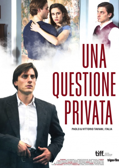 Una questione privata flyer