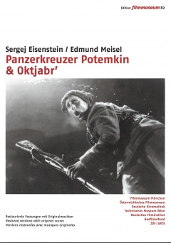 Battleship Potemkin & October DVD Edition Filmmuseum