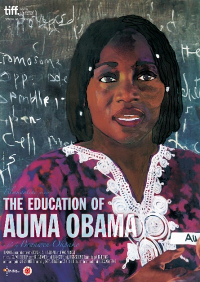The Education of Auma Obama flyer