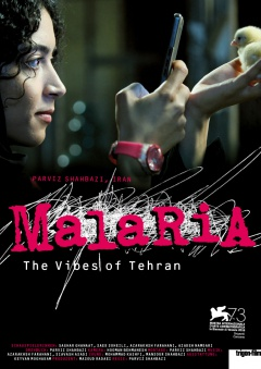 Malaria - The Vibes of Tehran (Flyer)