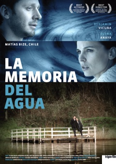 La memoria del agua (Affiches One Sheet)