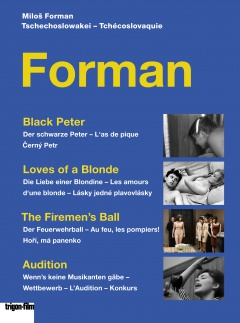 Coffret Milos Forman DVD